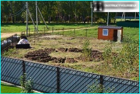 Zemes darbi dekoratīvā dārzā