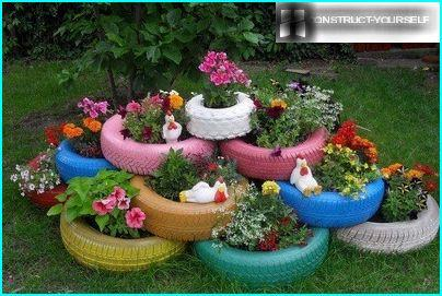 Original flowerbed