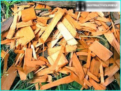 Matières premières pour la production de paillis