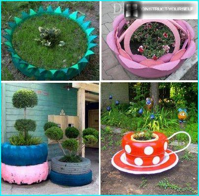 Designs flower beds