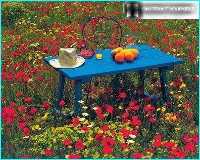 Moderner maurischer Rasen