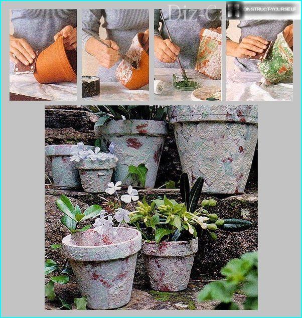 D'une manière si simple, vous pouvez faire des pots anciens