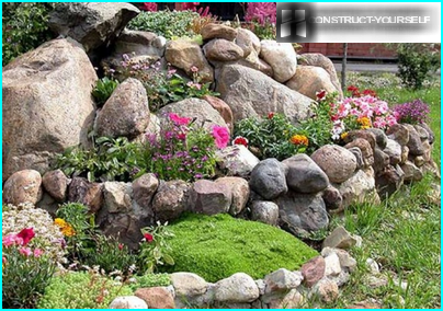 The successful combination of plants and stones