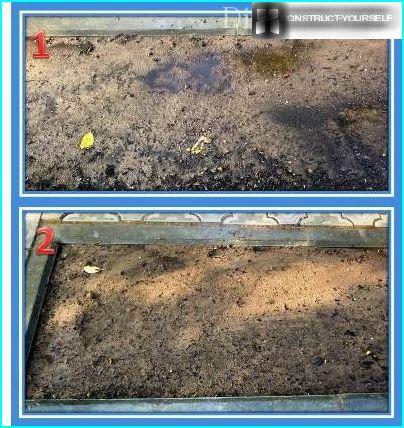Augsnes laistīšana zālienam