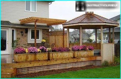 Improvement porch patio