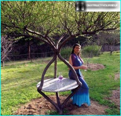 Table d'arbosculpture