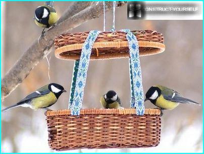 Feeder for feathered Pets