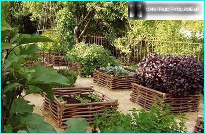 Decorative garden beds
