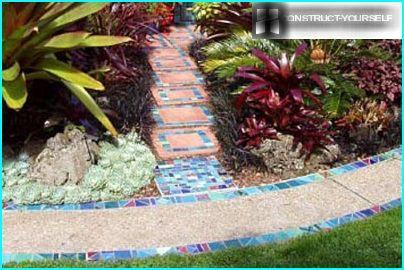 Mosaikpfade im Projekt