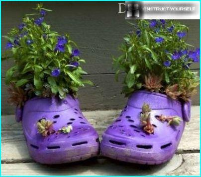 Rubber Slippers for flowers