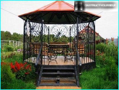 Einen Hex-Pavillon bauen