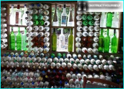 Murflaske til lysthus