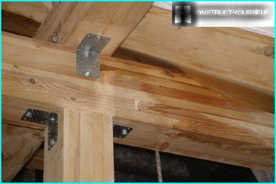 The technology of fastening of the longitudinal beams