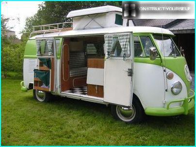 Camping-car de classe B