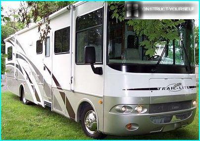 Camping-car de classe A