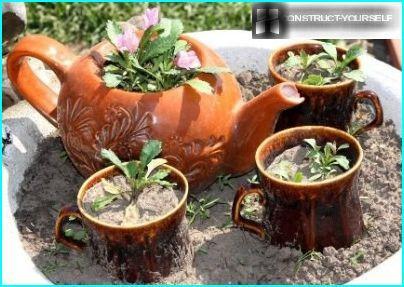 Ceramics for country decor