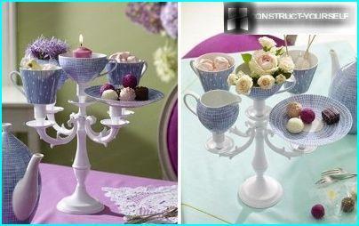 Vase made of porcelain