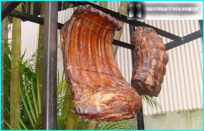 Hyvin savustettu liha