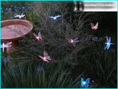 Glødende sommerfugle