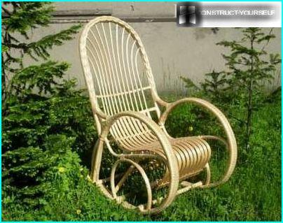 Chair from the willow vines