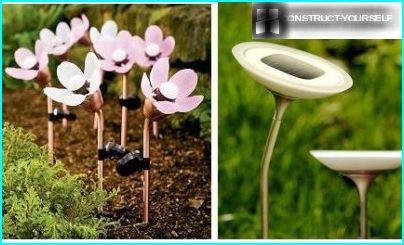 Solarbetriebene Blume