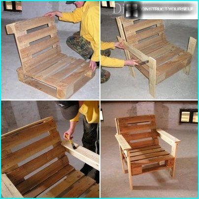 Dārza krēsla izgatavošanas process