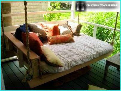 Comfortable hanging sofa