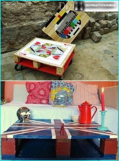 Stila dārza galdi