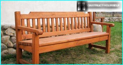 Panchina di legno