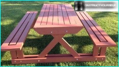 Table de pelouse