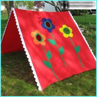 Ursprüngliche Hütte für Kinder auf dem Land