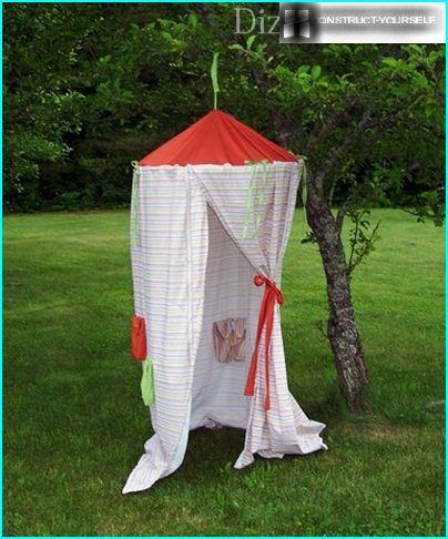 Mini Hütte für Mädchen