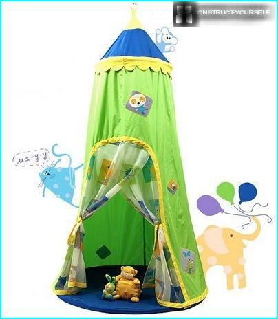 Bērnu telts spēlēm