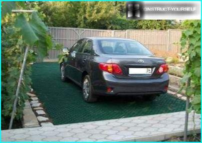 Græsplæne parkering