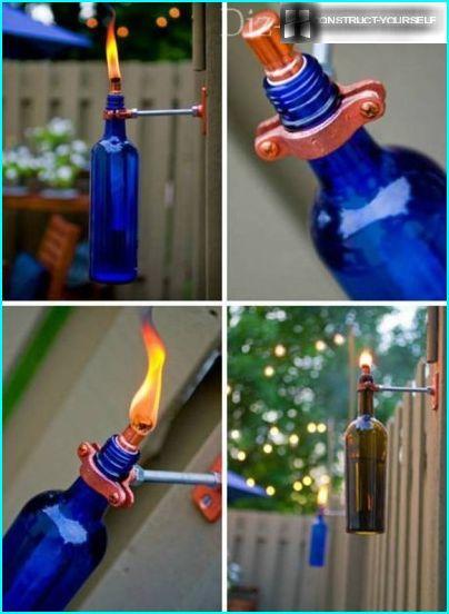 Flaske fakkel