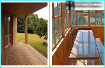Terrasse og veranda
