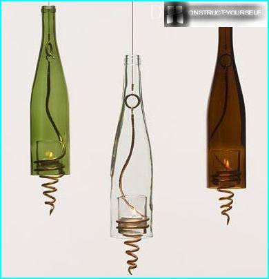 Kerzenflasche