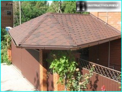Auvent de toit flexible