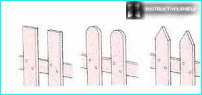 Variasjoner av staketopper