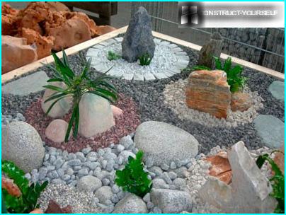 Tuin in fusiestijl: op zoek naar een harmonieuze combinatie van inconsistentie