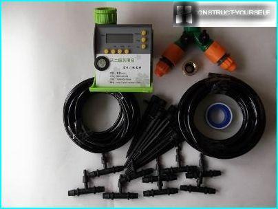 Drip equipment