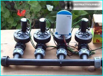 Timer to set watering time