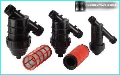 Filters for irrigation systems