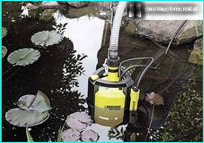 The option to install a submersible pump