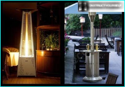 Pyramidal and orderely heater
