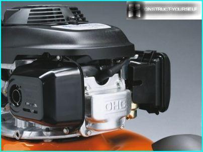Plæneklippermotor