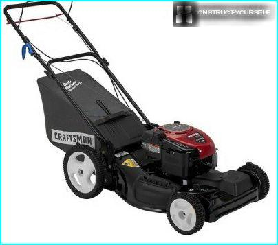 Front-wheel drive lawn mower