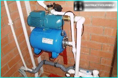 Installation einer Pumpstation