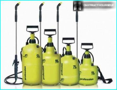 Beltemontert pumpesprøyter