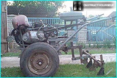 Motoblock aus alten Ersatzteilen